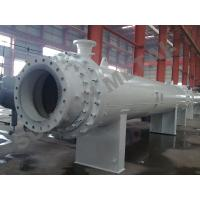 Quality Nickel Alloy C71500 Clad Shell Tube Heat Exchanger for Gas Industry for sale