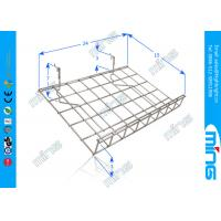 Wholesale Gridwall Chrome Wire Display Baskets Wire Shelf for Retail Stores from china suppliers