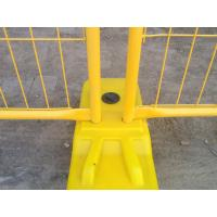 Wholesale Yellow Powder Coated South Australia Adelaide Temporary Fencing 2.1m x 2.4m from china suppliers
