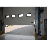 Wholesale Airtight superior performance  Insulated Sectional Overhead Doors with side top bottom seal from china suppliers
