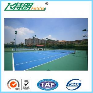 Wholesale Green PU Sports Court Flooring Custom Badminton Polyurethane Floor from china suppliers
