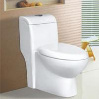 Wholesale unique design bathroom ceramic water closet one-piece toilet bowl 98123 from china suppliers
