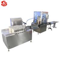 Quality Automatic Aerosol Filling Crimping  Machine And Propellant Gas Machine Fully Pneumatic Control for sale