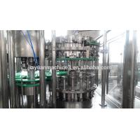Soft drink gas water beer filling machine for carbonated drink production line