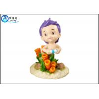 Wholesale Unique Little Boy Polyresin Aquarium Tank Decorations Cartoon Ornaments from china suppliers