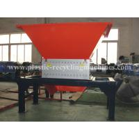 Wholesale Plastic Recycling Line Double Shaft Shredder , Wood Shredding Equipment from china suppliers