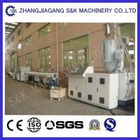 Wholesale Hdpe / Ppr Pipe Machine Full Automatical Single Screw Extruder from china suppliers