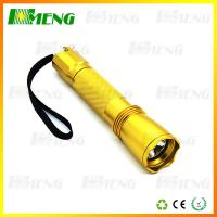 Wholesale 3.7V Rechargeale LED Flash Lights 7622 Gold CREE XPG2*3 Flashlight from china suppliers