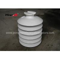 Wholesale HIVOLT 36kV White Porcelain Insulators , High Voltage Porcelain Insulators from china suppliers