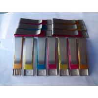 Wholesale 8GB clip Metal USB Memory drive with full capacity original flash chip (MY-UME36) from china suppliers