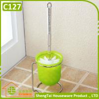 Wholesale Stainless Steel Bathroom Bowl Cleaning Brush With Holder from china suppliers