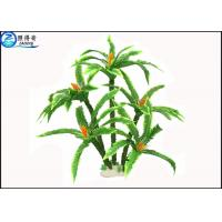 Wholesale Green Plastic Artificial Floating Aquarium Plants / Fake Plants and Trees for Fish Tank from china suppliers