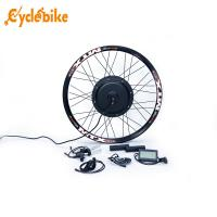 Wholesale Waterproof Electric Bike Kit Motorized Bicycle Rear Wheel With Lcd Display from china suppliers