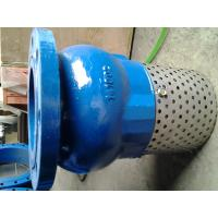 Wholesale Screen Mesh CUSTOM flanged foot valve With Stainless Steel Screen Strainer from china suppliers