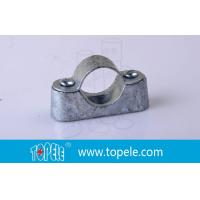 Buy cheap BS31 / BS4568 Conduit Fittings 20mm Malleable Iron Heavy Duty Distance Saddle With Base from wholesalers