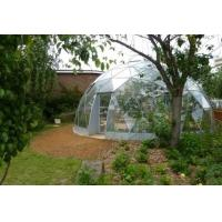 Quality Commercial Outdoor Glass Geodesic Large Dome Tent for greenhouse for sale