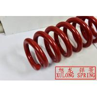 red coated alloy steel rear suspension spring for cars