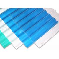 Wholesale High Corrosive Farm House FRP Roofing Sheets / Transparent Roof Panels from china suppliers