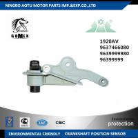 Wholesale Auto crank position sensor 1920AV 9637466080 9639999980 96399999 from china suppliers