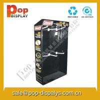 Wholesale Corrugated Cardboard Hook Display Stands Stable With Varnish Coating from china suppliers