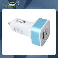 Wholesale 2.1A Double USB Car Power Charger Adapter Plug for Apple and Samsung Device from china suppliers