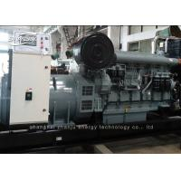 Quality 1500 kw Open Diesel Generator Electric Start Emergency Noise Proof for sale