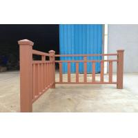 Wholesale Environmental Cedar WPC Garden Fence , WPC Outdoor Railing Board from china suppliers