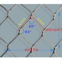 Wholesale Bird Netting,Aviary Mesh,Zoo Mesh,Animal Enclosure,Flexible Stainless Steel Rope Mesh from china suppliers