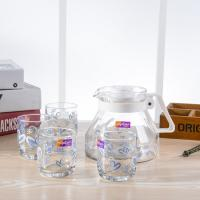 Wholesale Eco Friendly Glass Water Kettle Glass Juice Pitcher Under 80 Degress Temperature from china suppliers