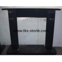Wholesale Hebei black,Absolute black granite fireplace,fireplace mantel,natural stone fireplace from china suppliers