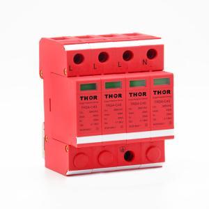 China Whole house surge protection lightning arrester power 40KA surge protector on sale