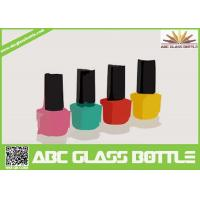 Wholesale hot design 8 ml square shaped pure glass nail enamel packing bottle from china suppliers