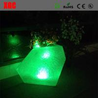 Wholesale 46 × 46 × 80 cm Colors Changing Waterproof PE Material LED Flower Pots,Decor Flower Pots for Christmas Decoration from china suppliers