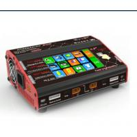 Wholesale HT206 Double ports Touch Screen Lipo Charger for balance , Max power 200W*2 from china suppliers