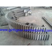 Wholesale Custom Steel Heavy Half Bevel Ring Gears Pinion ISO / SGS / RoHS Approved from china suppliers