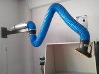 Wholesale Flexible Suction Arm for smoke extraction and Dust collector arm, wall mounted arm from china suppliers