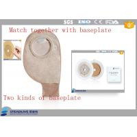 Wholesale 500ML Volume Flange Two Piece Ostomy Bag , Ostomy Drainage Bag OEM / ODM Service from china suppliers