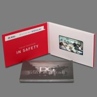 "Wholesale Custom Video Greeting Cards Lcd Brochure With Video Screen , 4.3""-10"" Screen from china suppliers"