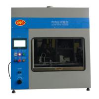 Wholesale 7 Inch Touch Screen Flammability Tester  PLC Glow Wire Test Equipment IEC60695 from china suppliers