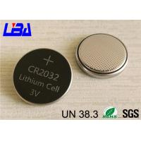 Wholesale High Capacity 3v Lithium Battery , Original Lithium Coin Battery For Car Remote Control from china suppliers
