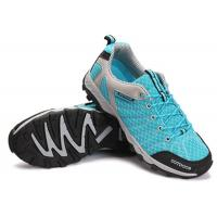 Anti Kicking Toe Blue Comfortable Athletic Shoes For Gym Workouts OEM / ODM Available