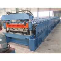 Wholesale High Precision Metal Deck Roll Forming Machine / Steel Deck Roofing Machine from china suppliers