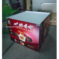 Quality POP / POS Cardboard Dumpbin Display holding 50kg for Red Wine , Liquor for sale