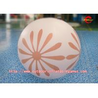 Buy cheap Hand Printing Inflatable Advertising Balloons / Lighting Inflatable Balloon from wholesalers