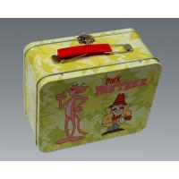 Wholesale Beautiful Rectangular Tin Box , Kids Lunch Boxes Eco - Friendly Recycled Tinplate from china suppliers