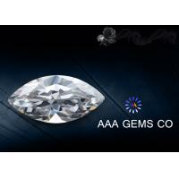 Wholesale 8mm x 4mm White Marquise Moissanite , Lab Created Moissanite from china suppliers
