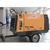 Quality High Efficiency 50KW Portable Diesel Air Compressor Industrial Screw Air Compressors for sale