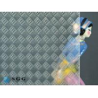 Quality Excellence quality 4mm 5mm 6mm clear silesia pattern glass for sale