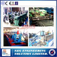 Wholesale 13m / Min Corrugated Sheet Roll Forming Machine Rack Storage Systems 15T from china suppliers