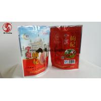 Wholesale Resealable Zipper Plastic Pouch Food Packaging Bags With Clear Window Glossy Printing from china suppliers